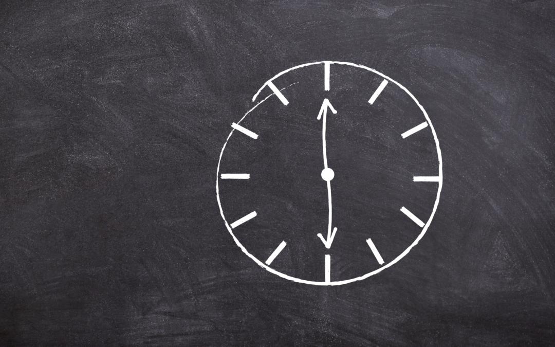 hoe je meer tijd voor jezelf creeert